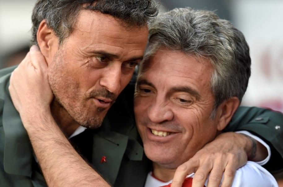 Juan Manuel Lillo y Luis Enrique