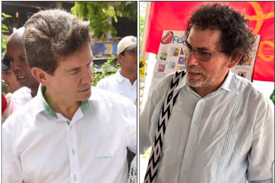 Luis Pérez y 'Pastor Alape'
