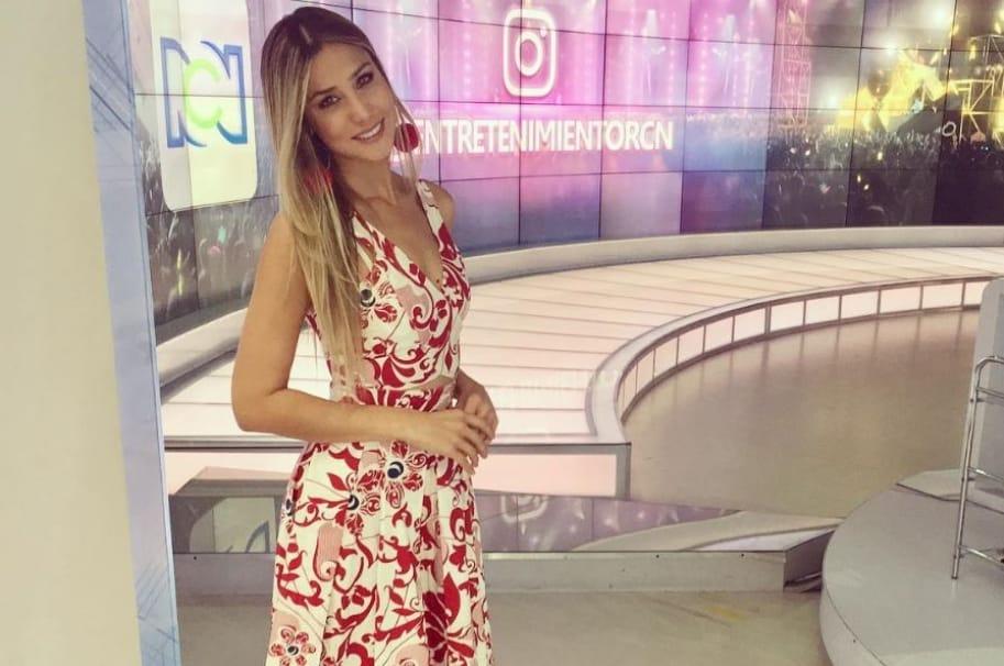 Zahira Benavides, presentadora de Noticias RCN.