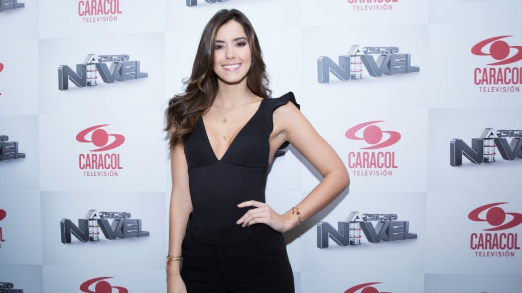 Paulina Vega, ex Miss Universo y presentadora de 'A otro nivel'.