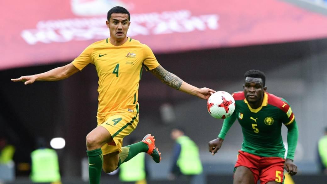 Camerún 1-1 Australia