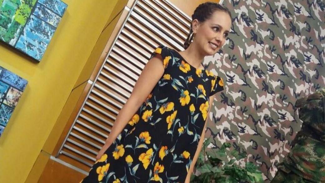 Milena López, presentadora de 'Muy Buenos días'.