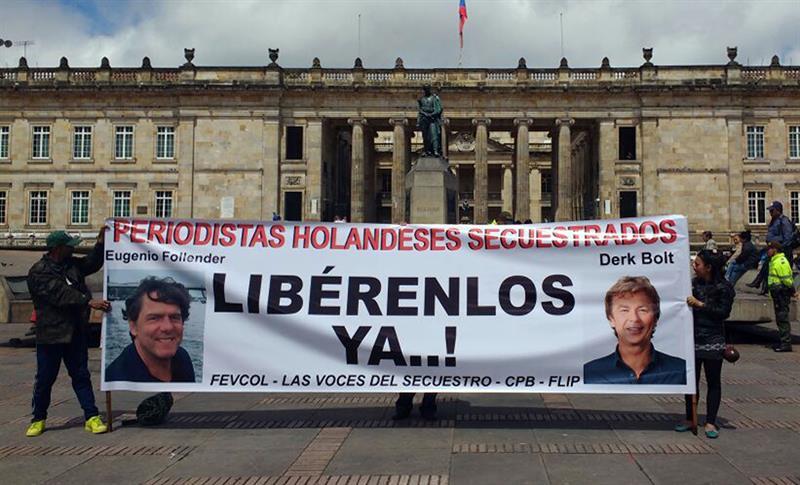 Libertad para secuestrados