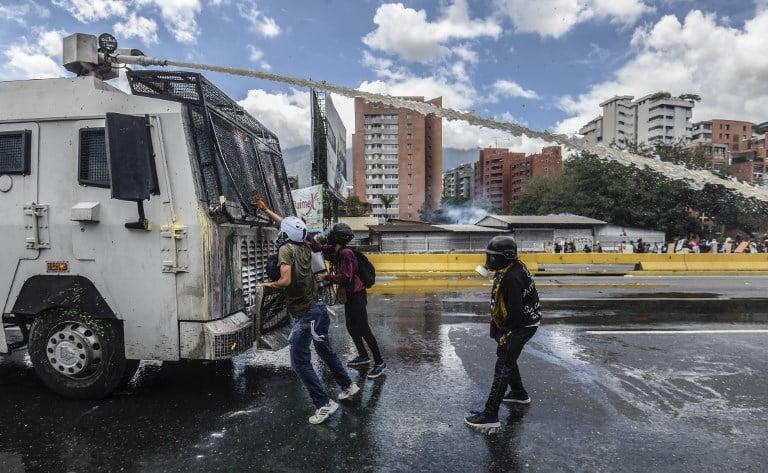 Protesta en Venezuela. Pulzo.com