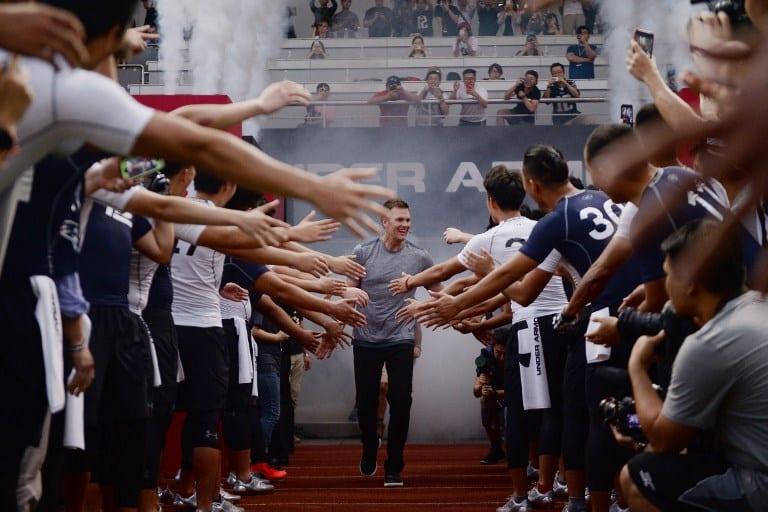 Tom Brady en China. Pulzo.com