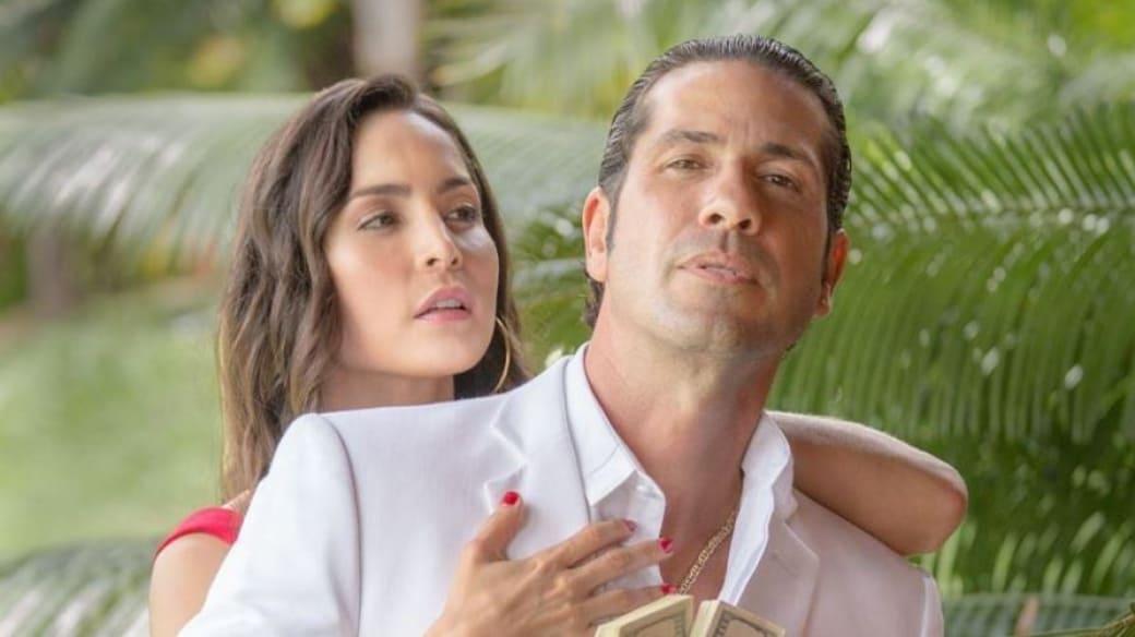 Carmen Villalobos y Gregorio Pernía, actores.