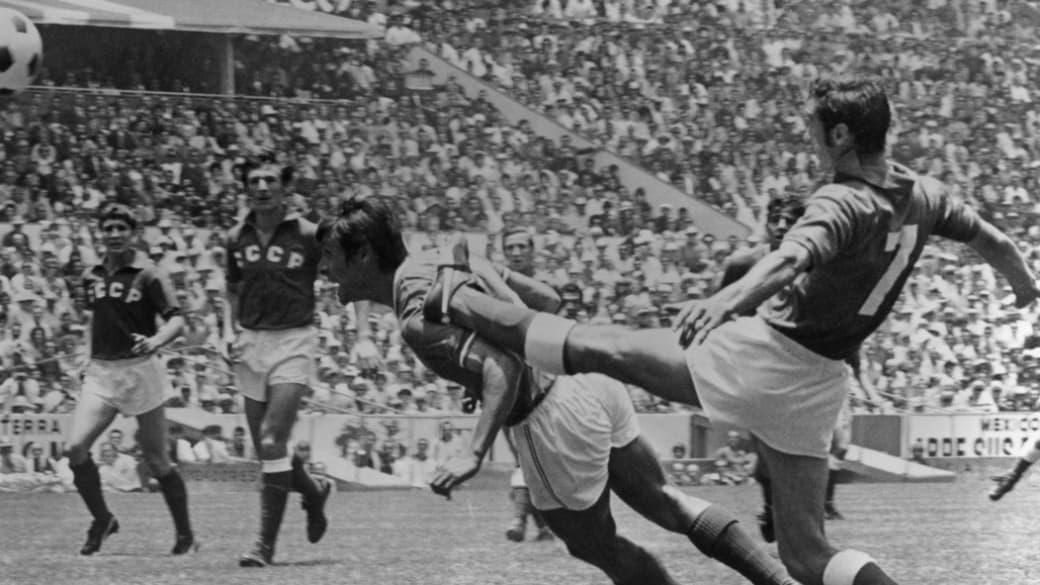 Mexico vs. URSS en México 1970