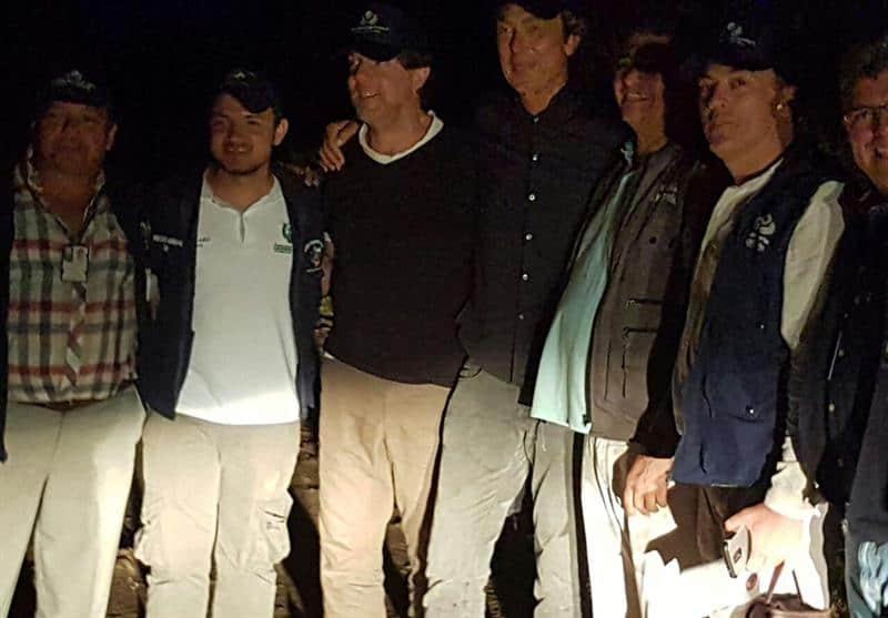 Liberación de holandeses secuestrados