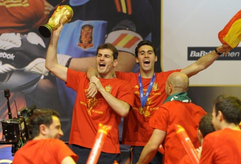 Casillas y Arbeloa