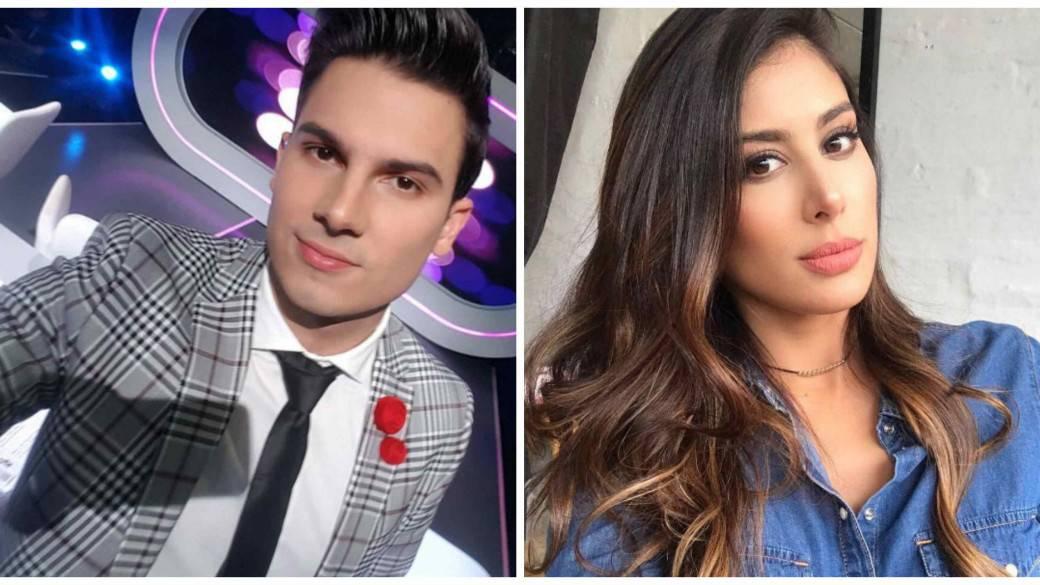 Pipe Bueno y Natalia Sanchez