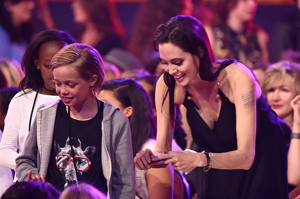 Shiloh Jolie-Pitt y Angelina Jolie