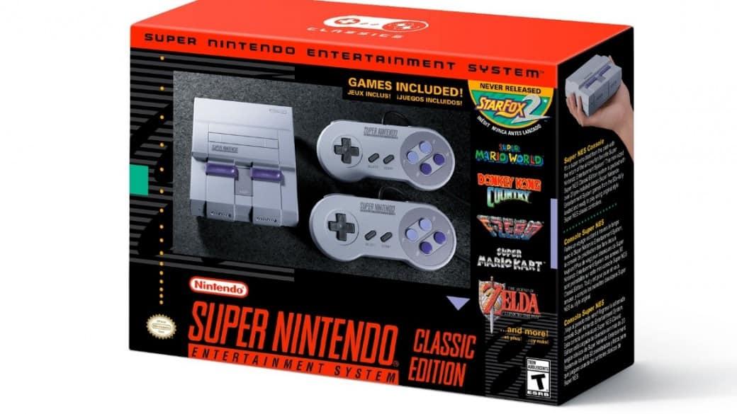 Nueva consola Super Nintendo