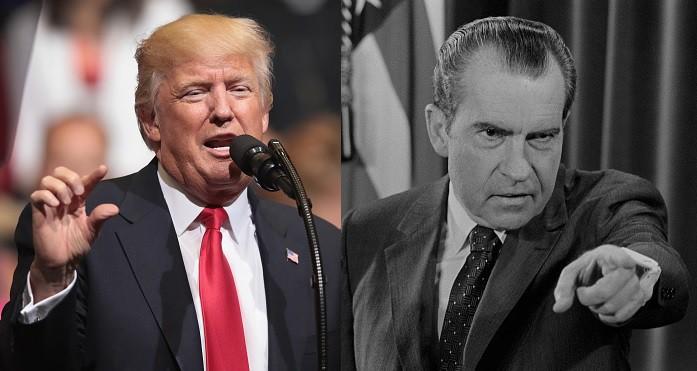Trump y Nixon
