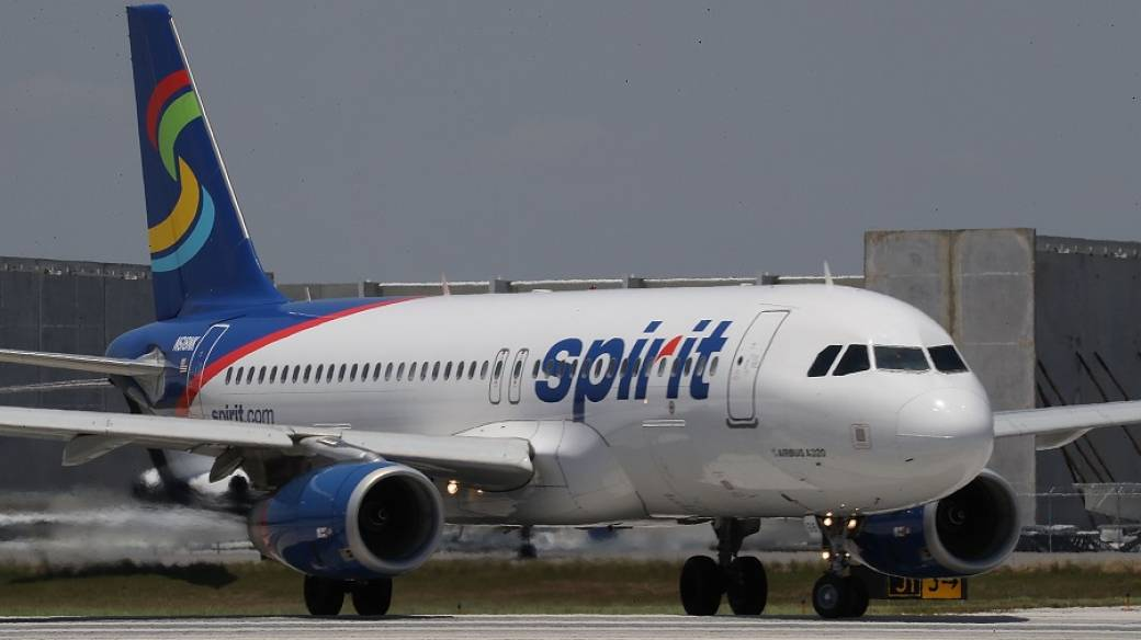Avión de Spirit Airlines