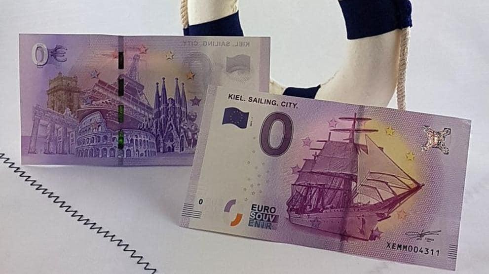 Billetes de 0 euros