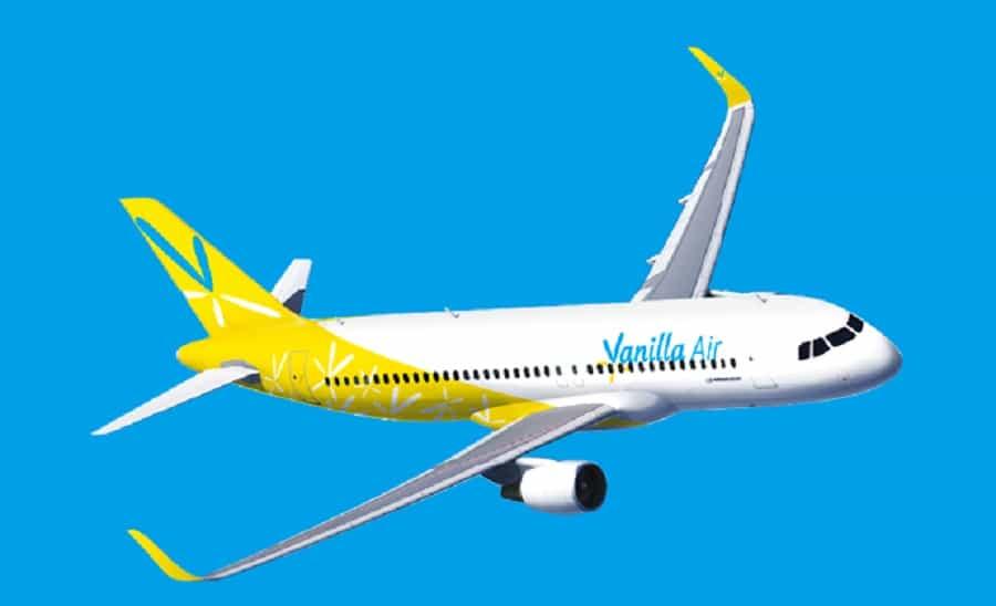 Avión de Vanilla