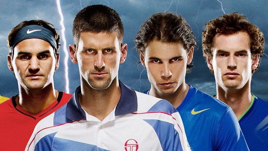Federer, Djokovic, Nadal y Murray