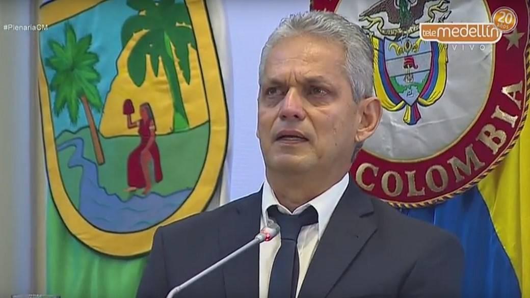 Reinaldo Rueda en Concejo