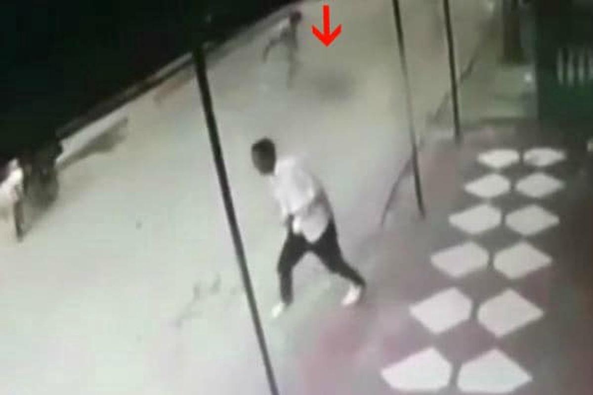 Hombre golpea a perrito callejero en el barrio Santa María, en Barranquilla. Pulzo.com