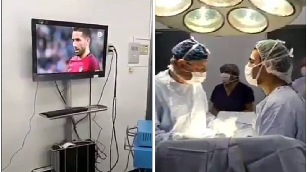 Cirujanos en el quirófano