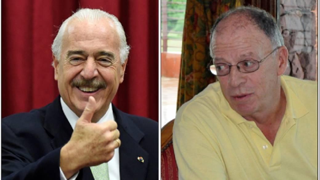 Andrés Pastraa y Enrique Santos