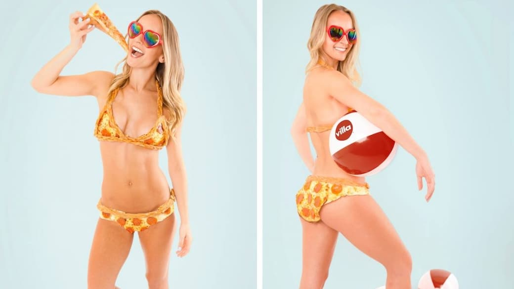 Bikini de pizza de pepperoni. Pulzo.com