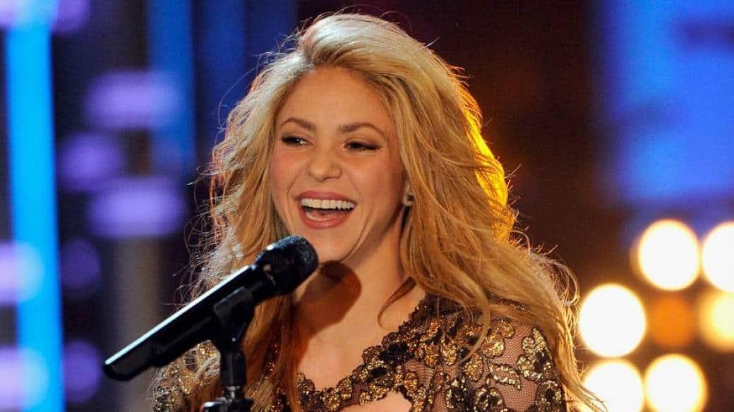 Shakira cantante colombiana