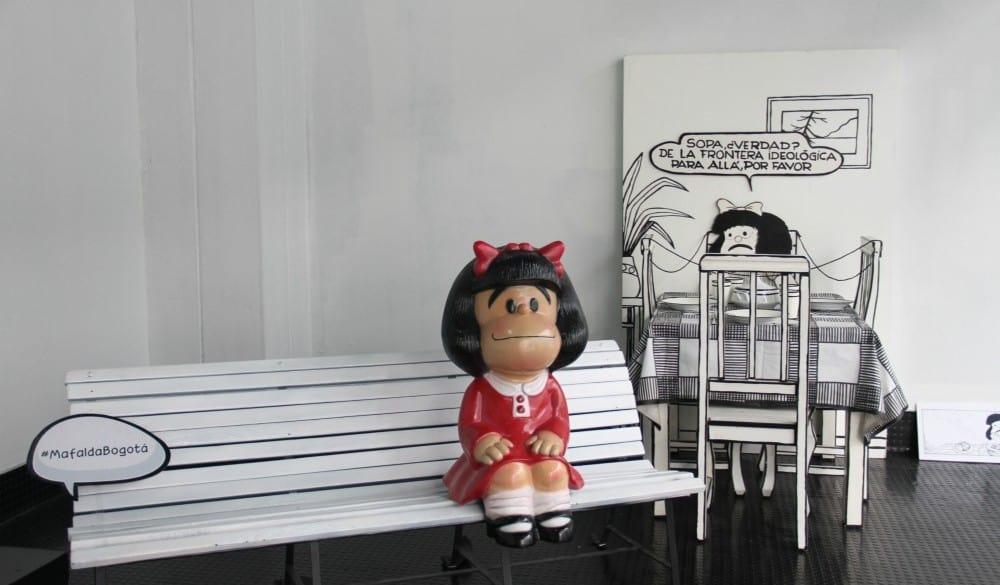 'El mundo según Mafalda' en Bogotá.