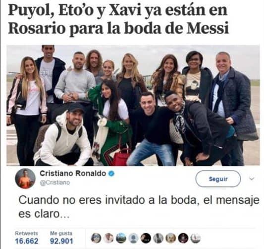 Memes boda Messi y Antonella