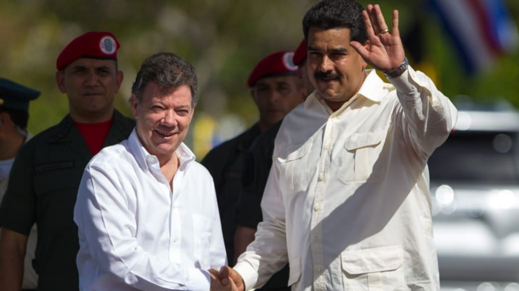 Maduro y Santos