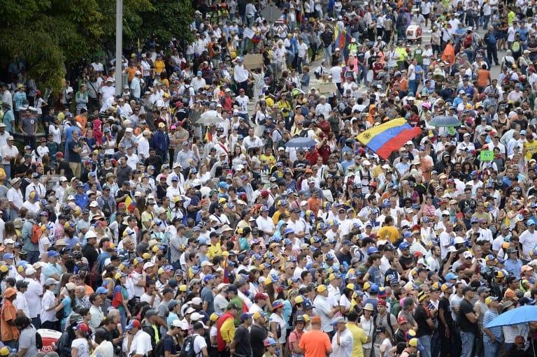 Tres meses de protestas en Venezuela