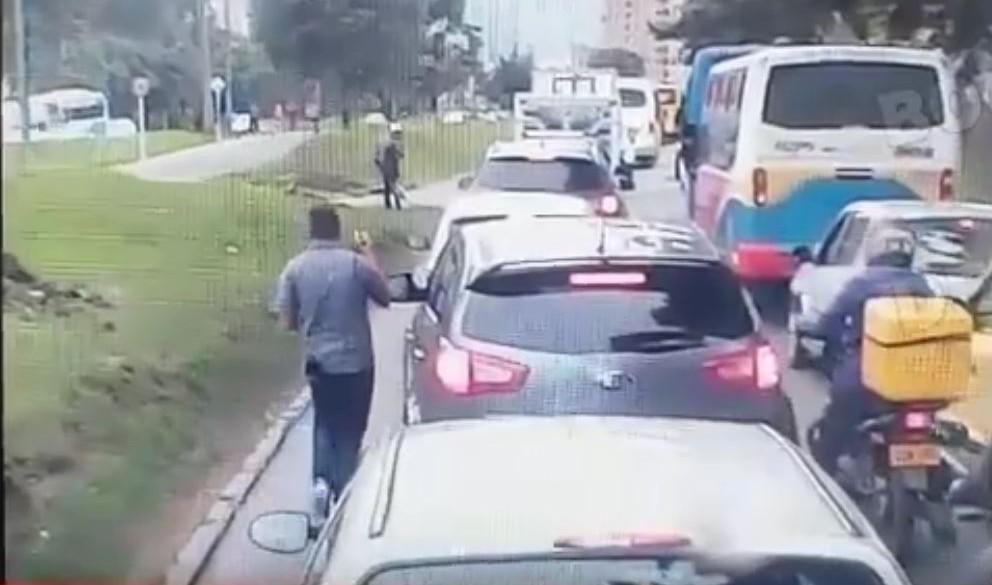Ladrones en Bogotá