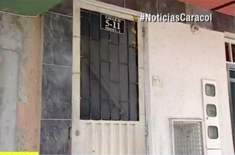 Casa donde hombre mató a su exnovia en Bucaramanga. Pulzo.com