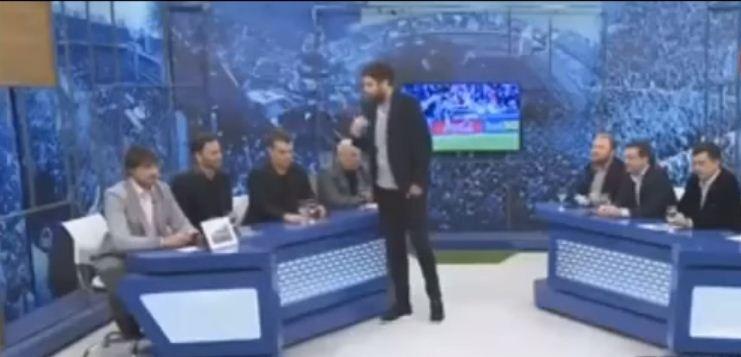Periodistas del programa 'Fútbol al horno'