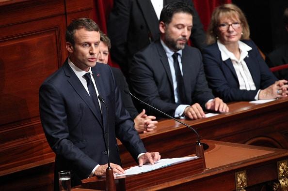Presidente francés, Emmanuel Macron