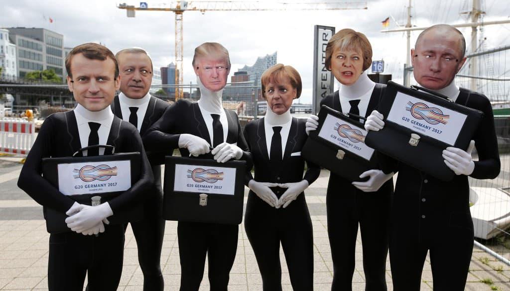 Protestas en Hamburgo antes de la cumbre del G20