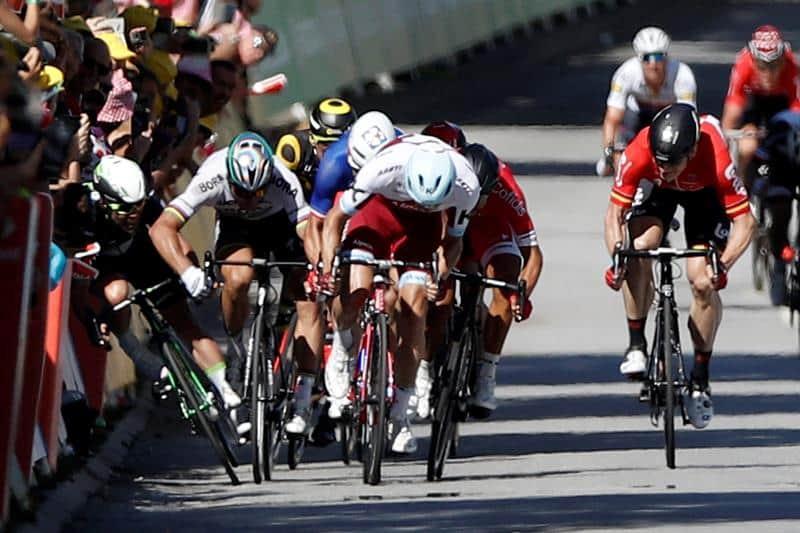 Altercado Tour de Francia