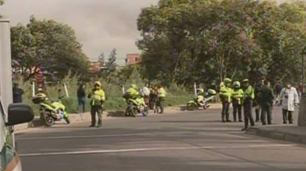 Autoridades inspeccionaron el lugar de los hechos, en el sur  de la capital
