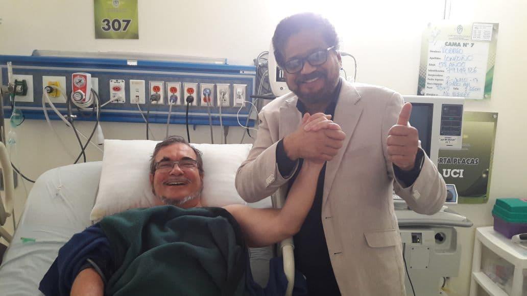 Timoleón Jiménez e Iván Marquez