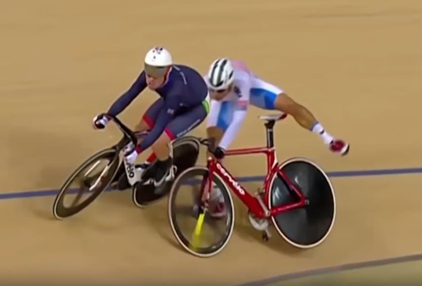 Mark Cavendish y Park Sanghoon