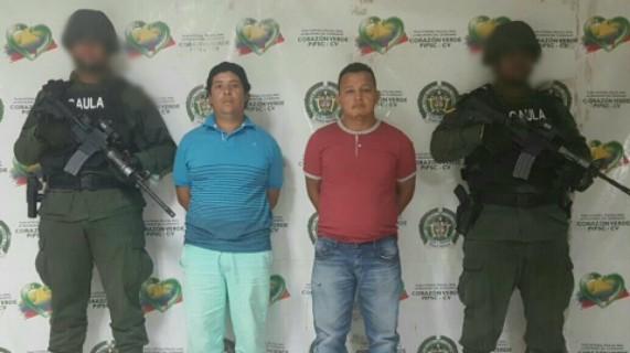 Capturados en Puerto Colombia