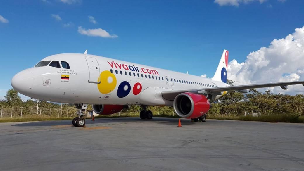 Avión de Viva Colombia