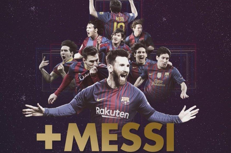 Renovación de Lionel Messi