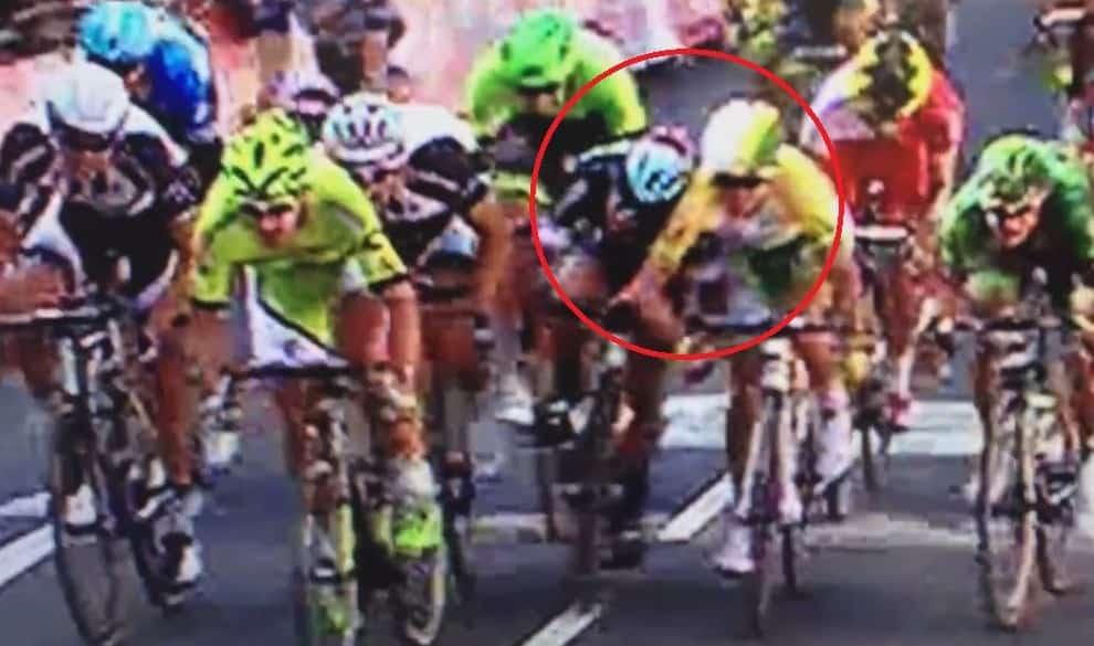 Esprint de Mark Cavendish en etapa 1 del Tour 2014