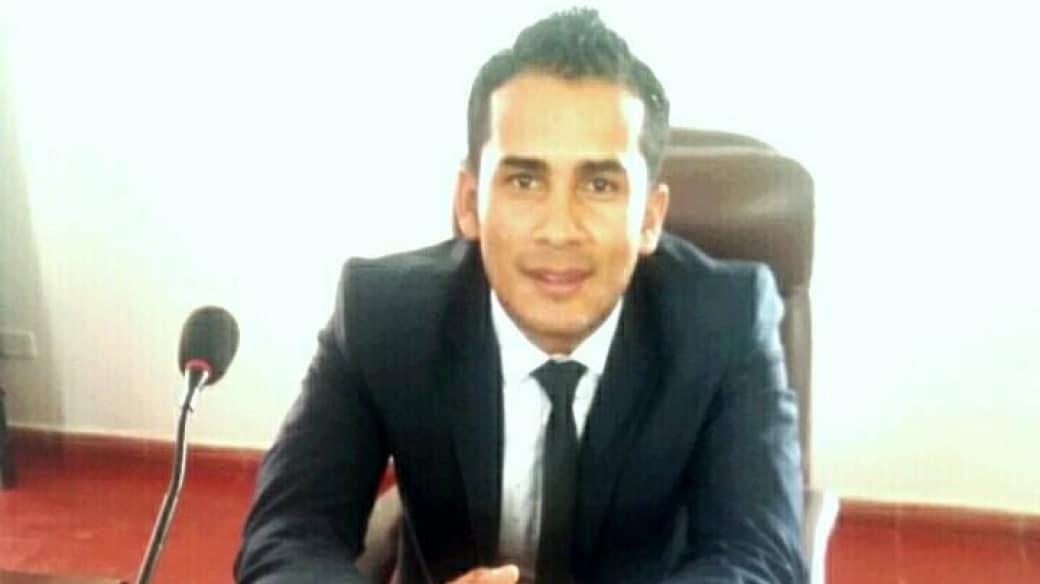 Concejal Óscar Guerrero