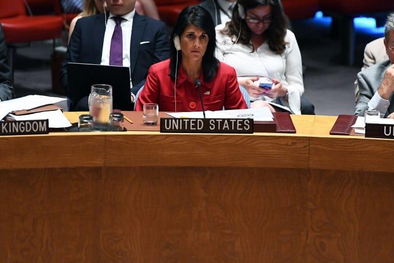 Embajadora de Estados Unidos en la ONU