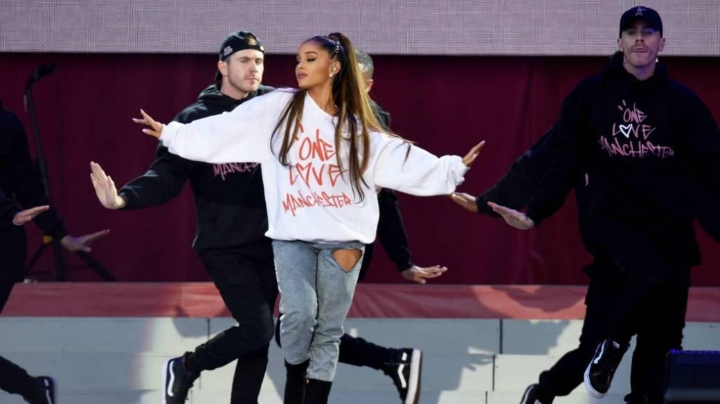 Ariana Grande en el concierto 'One Love Manchester'. Pulzo.com