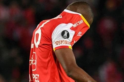 Jugador de Independiente Santa Fe