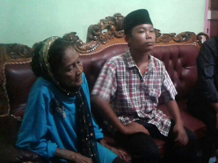 Pareja dispareja de Indonesia