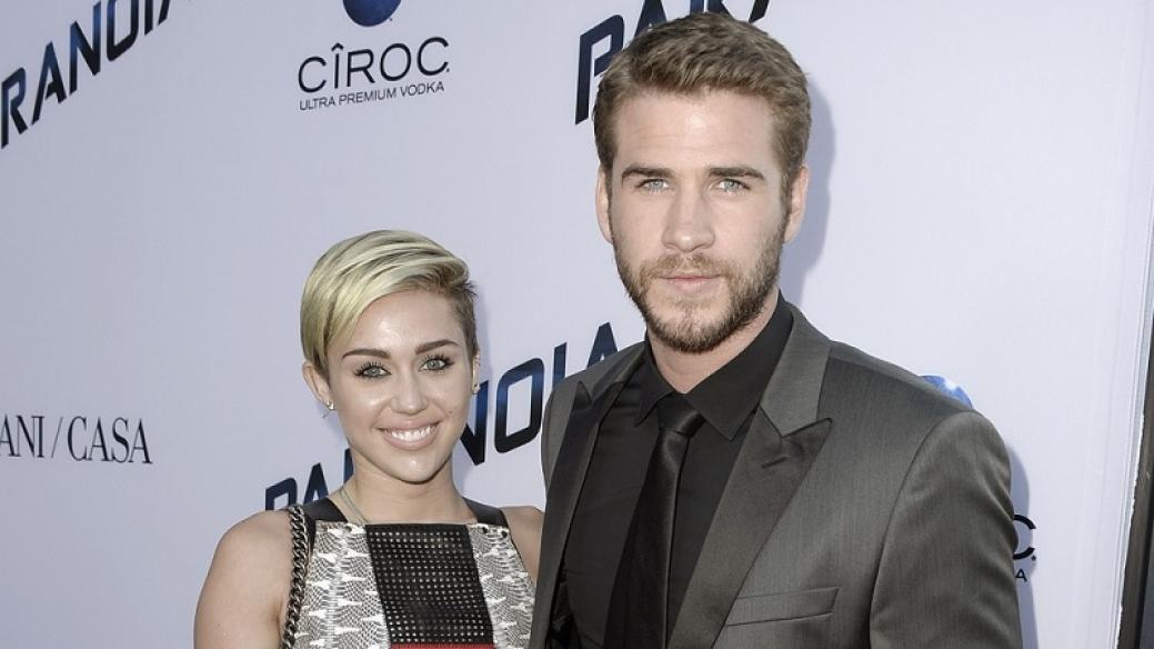 Miley Cirus y Liam Hemsworth